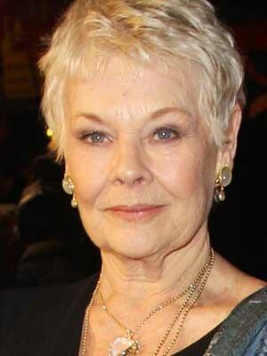 Judi Dench - aged 83