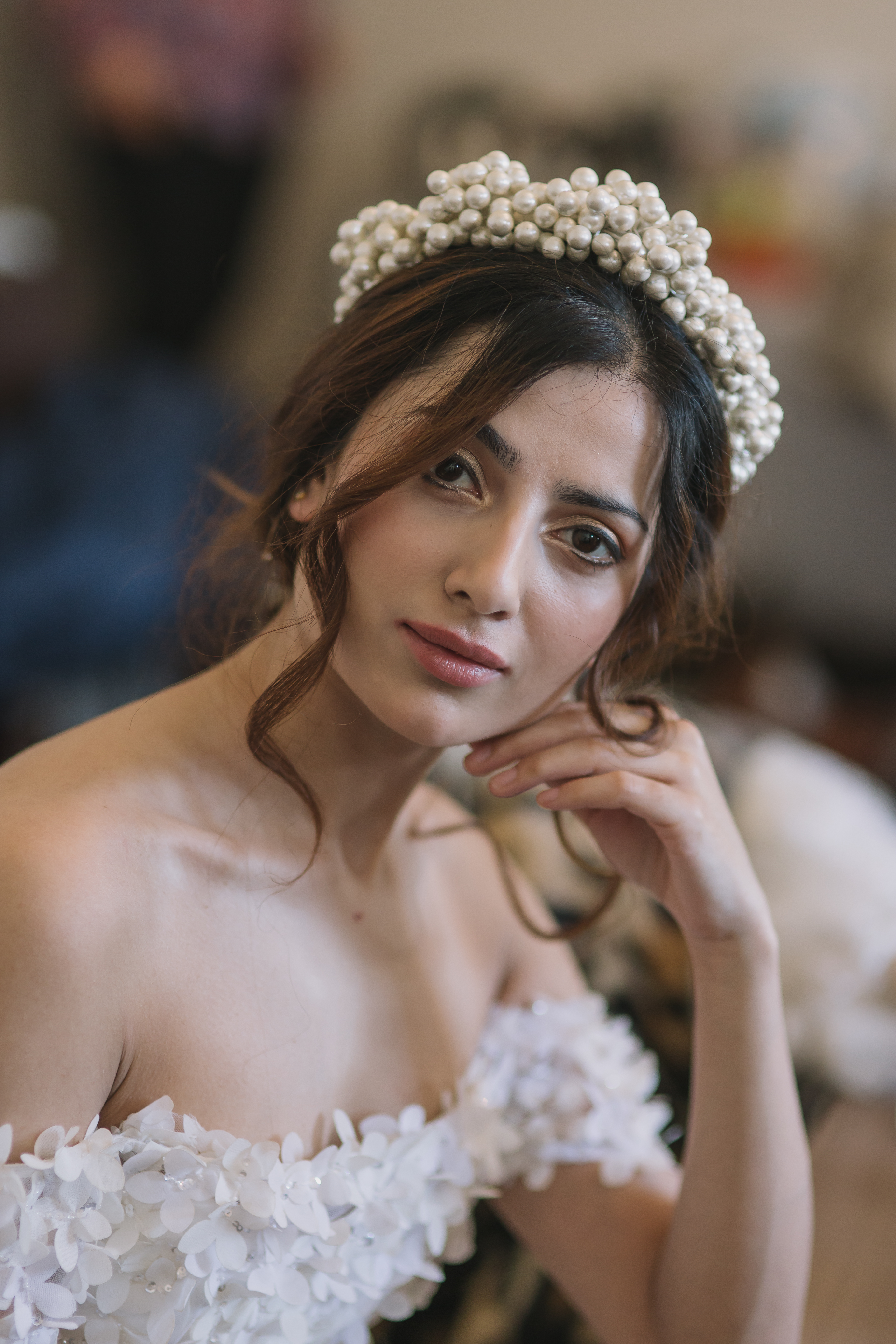 British Bride couture runway show and editorial photoshoot