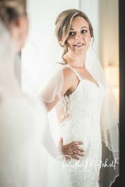 Classic elegent makeup on bride Vicky.  Nude tones and a radiant glow - always timeless