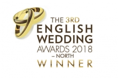 Winner of Makeup and Hair Specialist at The English Wedding Awards for North