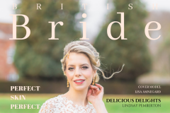 British Bride Magazine front cover April 2019 edition
