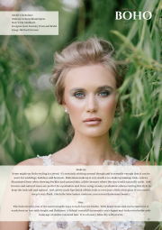 Published bridal editorial for British Bride magazine