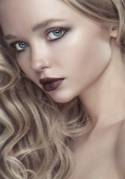 Beauty shoot with Charlotte Place