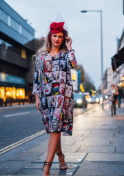 London Calling! Fashion editorial published in British Editorial magazine.