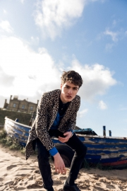 Editorial shoot at Marske beach