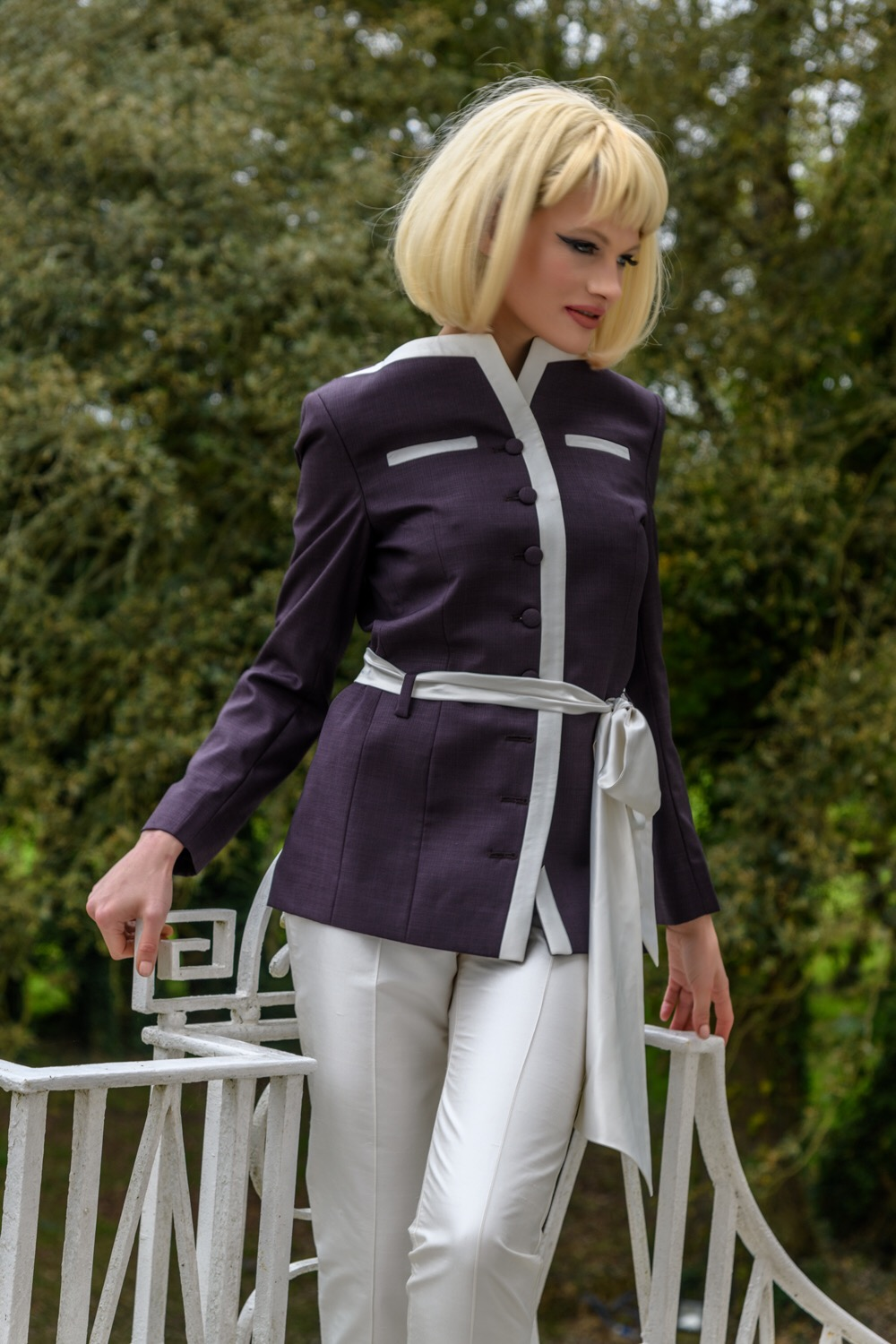 Published fashion shoot with Chloe-Jasmine Whichello at Castle Goring