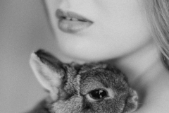 Published work for Vogue Italia - based on raising awareness for animal testing for cosmetics