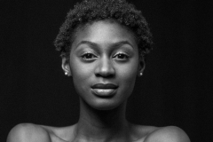 Head and shoulders above the rest - stunning model Chisanga