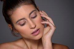Natural makeup (no makeup look) worn by beauty model