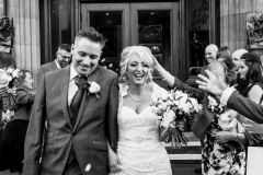 Vintage makeup on bride Andrea who was married at Gisborough Hall