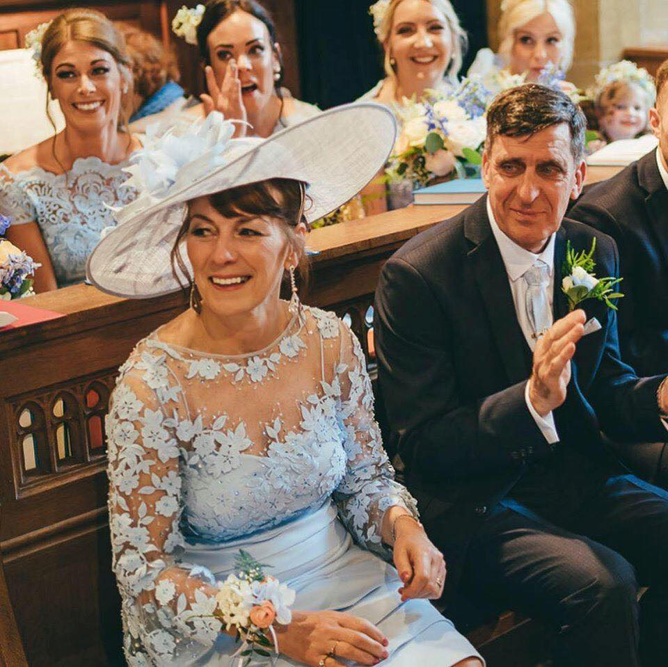 Flawless makeup for this gorgeous bridal party at Wynyard Hall