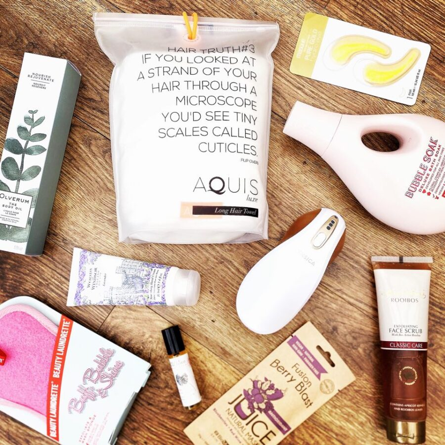 Home spa beauty recommendations