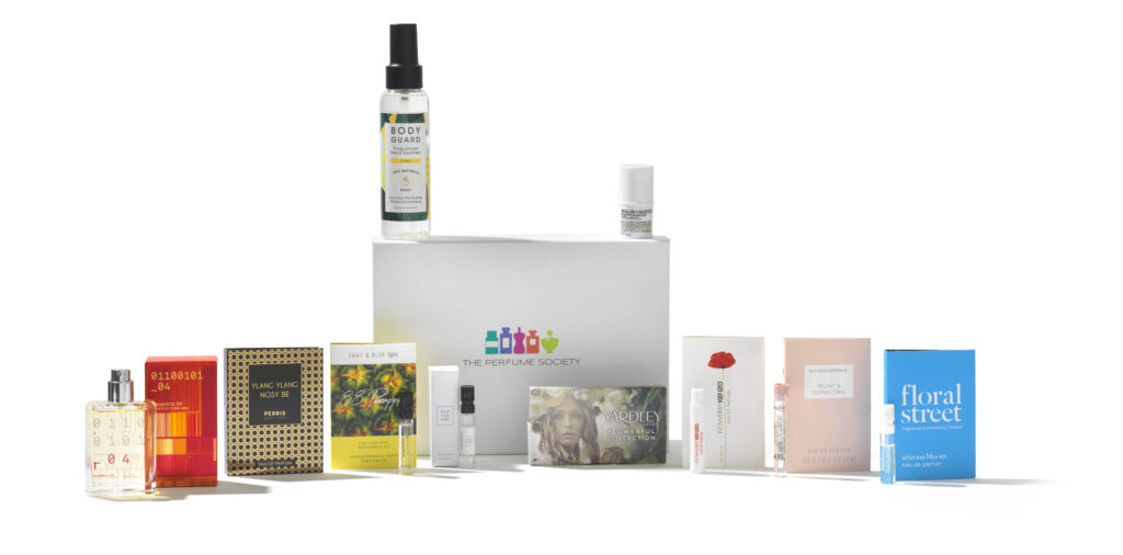The Perfume Society fragrance beauty box
