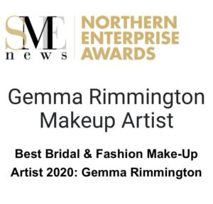 Best Bridal and Fashion Makeup Artist Award logo